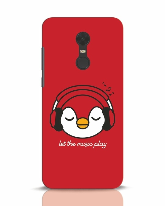 Shop Let The Music Play Xiaomi Redmi Note 5 Mobile Cover-Front