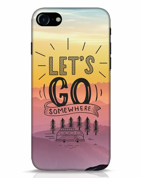 Shop Lets Go Somewhere iPhone 7 Mobile Cover-Front