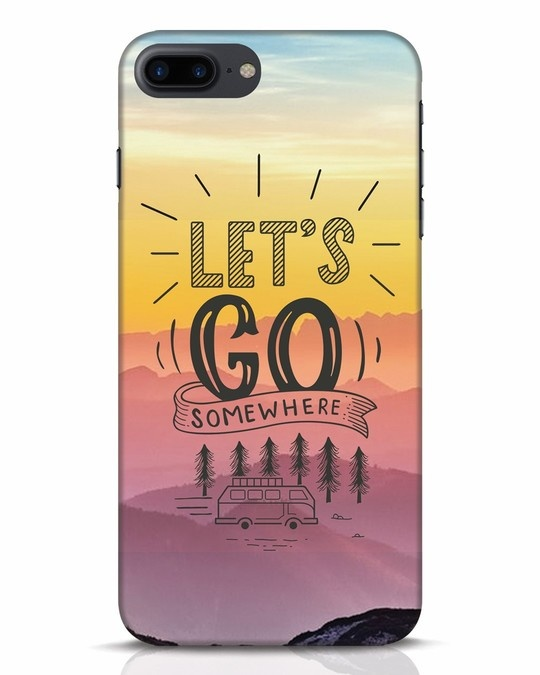 Shop Lets Go Somewhere iPhone 7 Plus Mobile Cover-Front