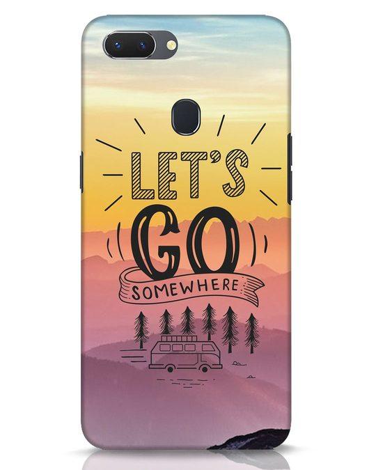 Shop Lets Go Somewhere Realme 2 Mobile Cover-Front