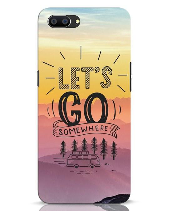 Shop Lets Go Somewhere Realme C1 Mobile Cover-Front