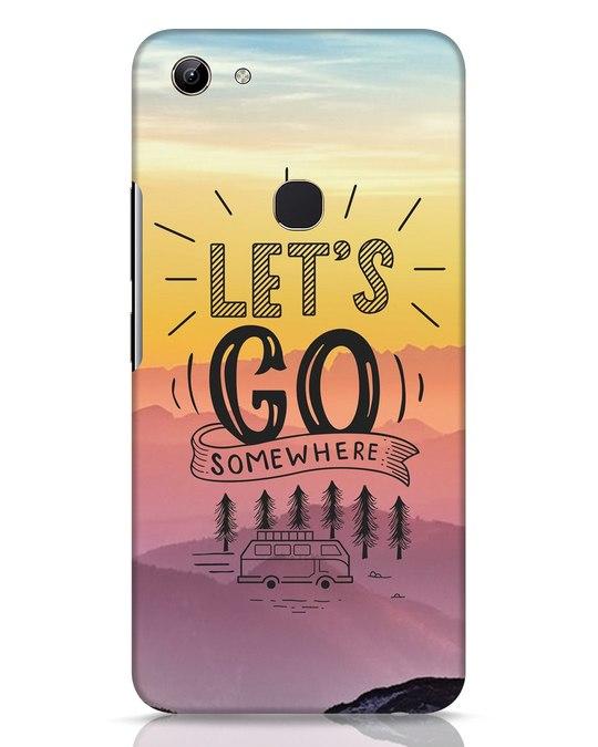 Shop Lets Go Somewhere Vivo Y81 Mobile Cover-Front