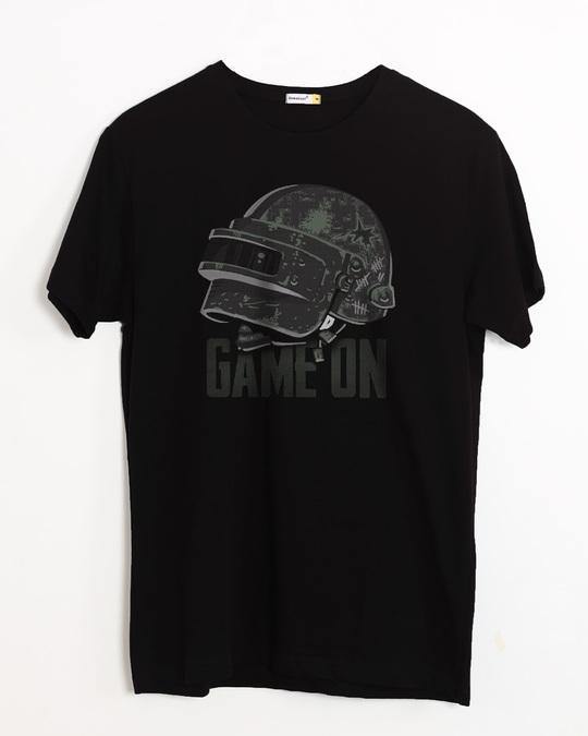 Shop Level 3 Helmet Half Sleeve T-Shirt-Front