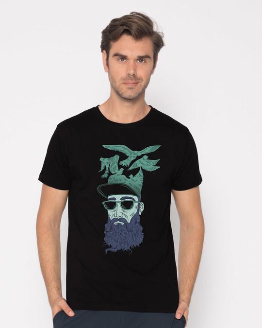 Shop Liberalism Half Sleeve T-Shirt-Back