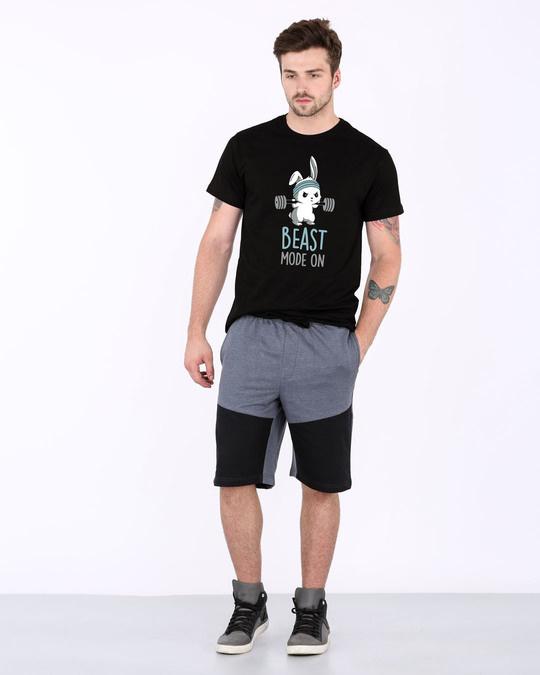 Shop Lift Like A Beast Half Sleeve T-Shirt