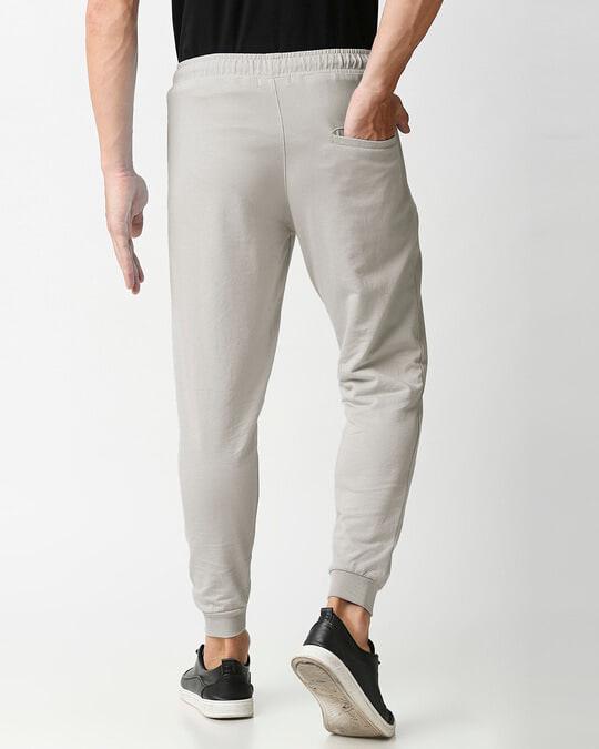 Shop Light Grey Zipper Jogger-Design