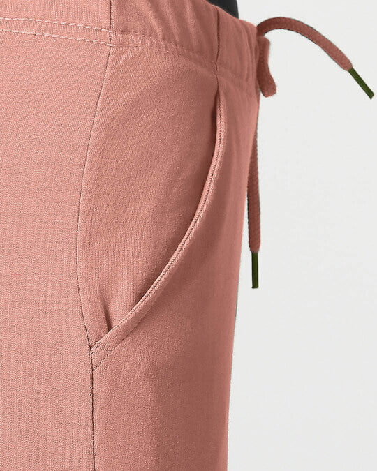Shop Light Pink Casual Jogger Pants