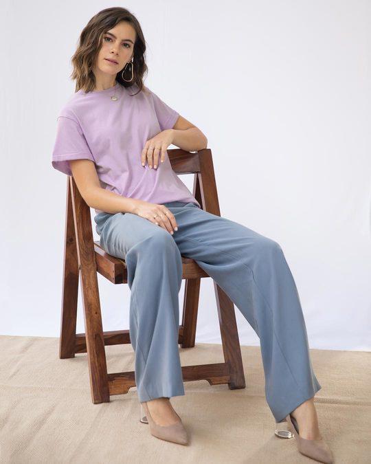 Shop Lilac Breeze Boyfriend T-Shirt