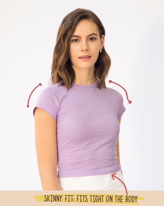 Shop Lilac Breeze Crop Top-Full