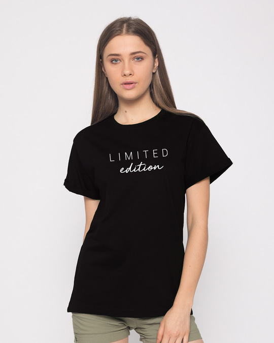 Shop Limited Edition Minimal Boyfriend T-Shirt-Front