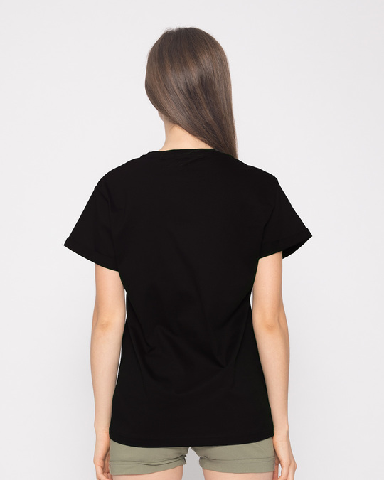 Shop Limited Edition Minimal Boyfriend T-Shirt-Back