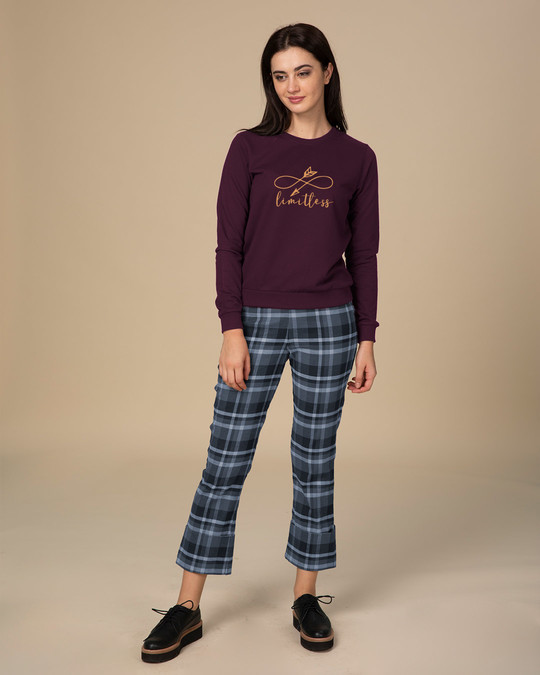 Shop Limitless Arrow Crew Neck Sweatshirt-Design
