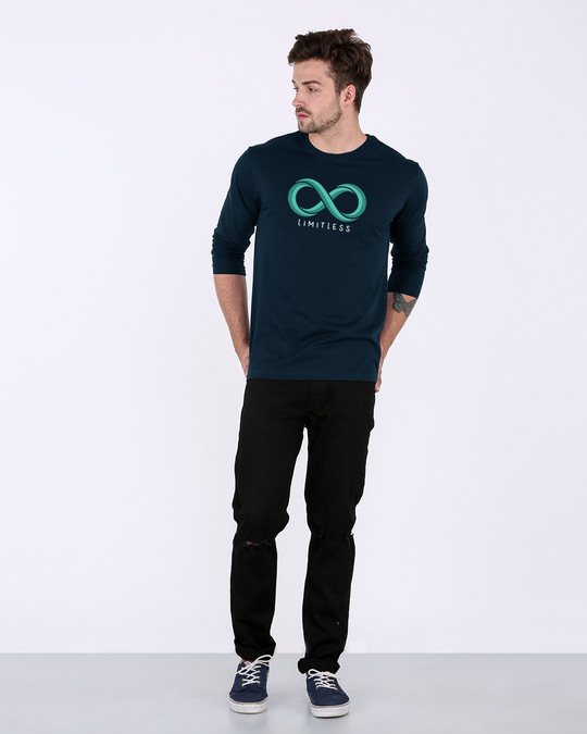 Shop Limitless Infinity Full Sleeve T-Shirt