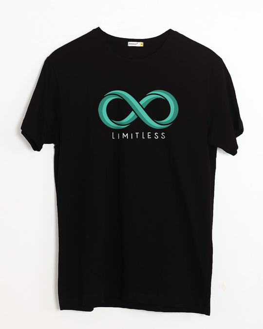 Shop Limitless Infinity Half Sleeve T-Shirt-Front