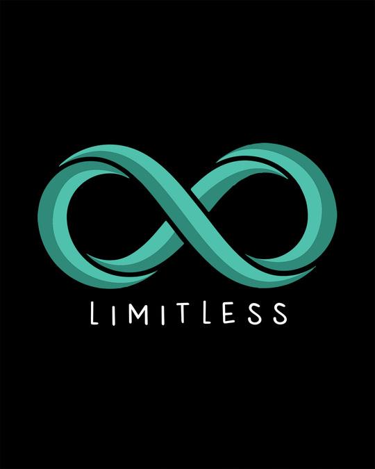 Shop Limitless Infinity Half Sleeve T-Shirt