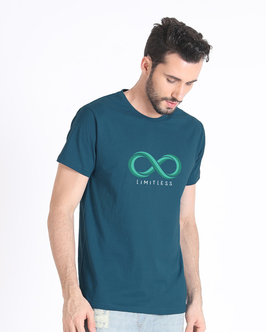 Shop Limitless Infinity Half Sleeve T-Shirt-Full