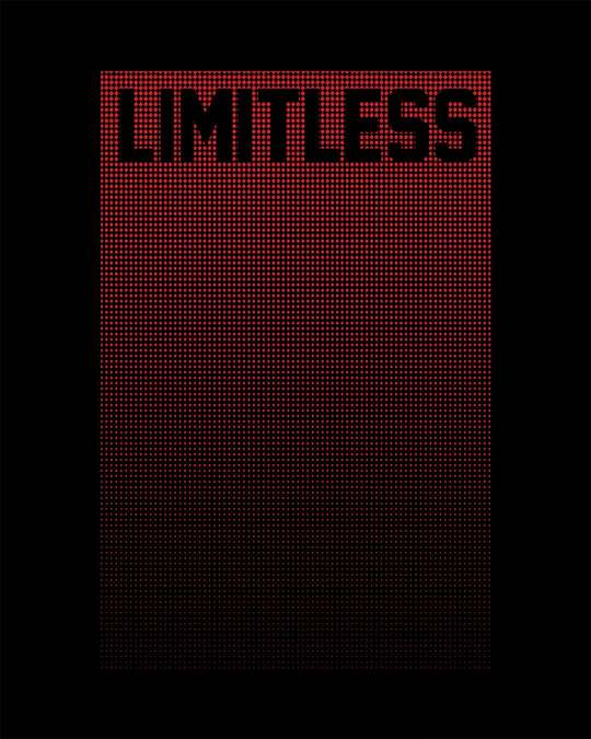 Shop Limitless Ombre Half Sleeve T-Shirt