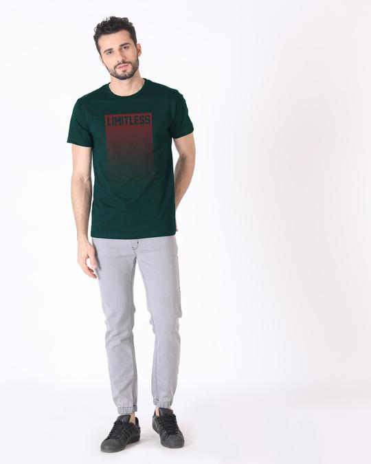 Shop Limitless Ombre Half Sleeve T-Shirt