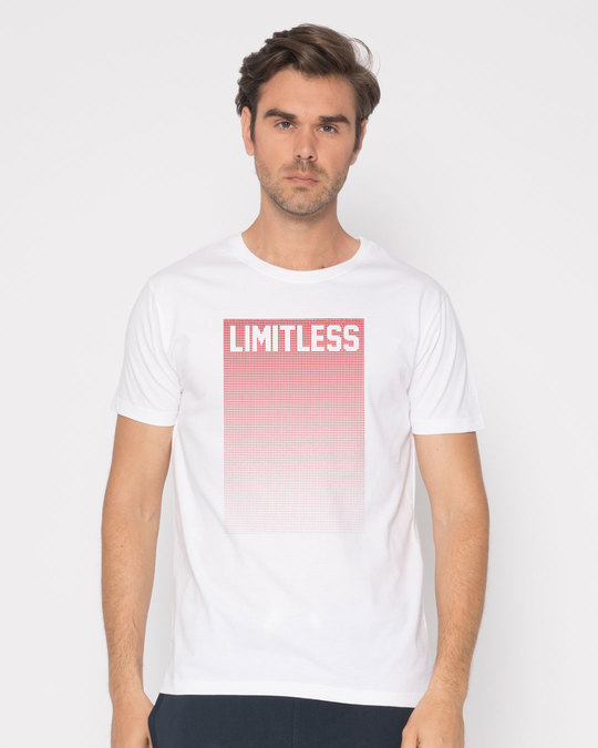Shop Limitless Ombre Half Sleeve T-Shirt-Back