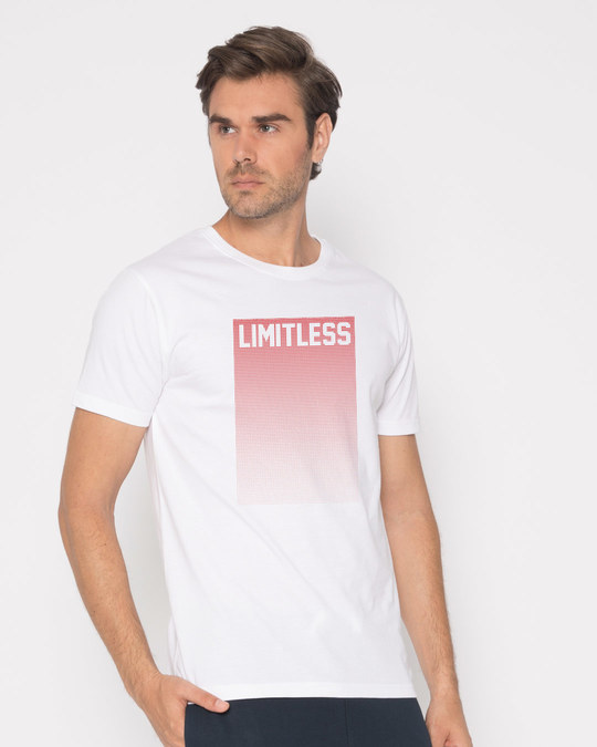 Shop Limitless Ombre Half Sleeve T-Shirt-Design