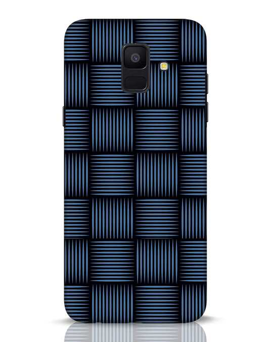 Shop Lines Pattern Samsung Galaxy A6 2018 Mobile Cover-Front