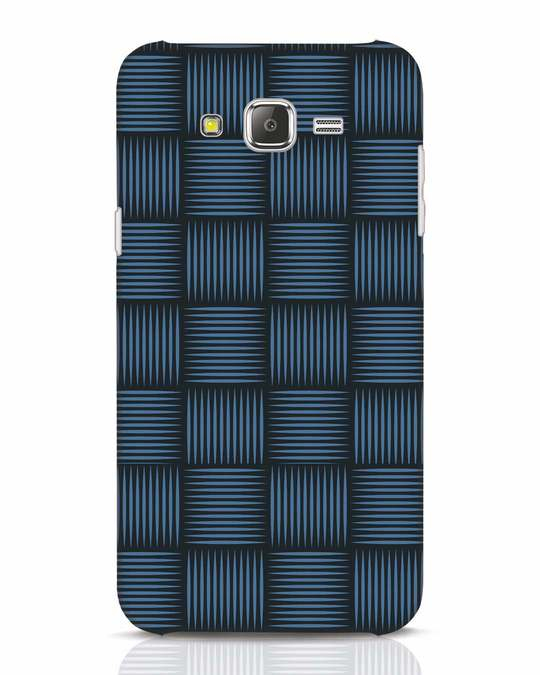 Shop Lines Pattern Samsung Galaxy J7 Mobile Cover-Front