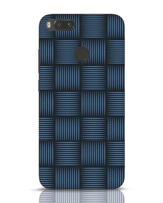 Shop Lines Pattern Xiaomi Mi A1 Mobile Cover-Front