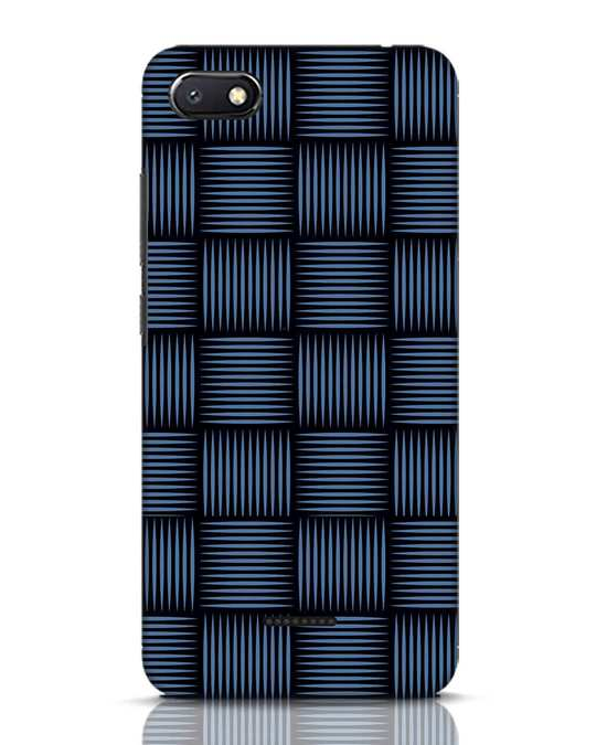 Shop Lines Pattern Xiaomi Redmi 6A Mobile Cover-Front
