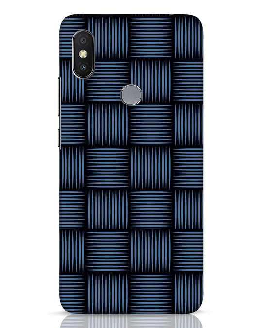 Shop Lines Pattern Xiaomi Redmi Y2 Mobile Cover-Front