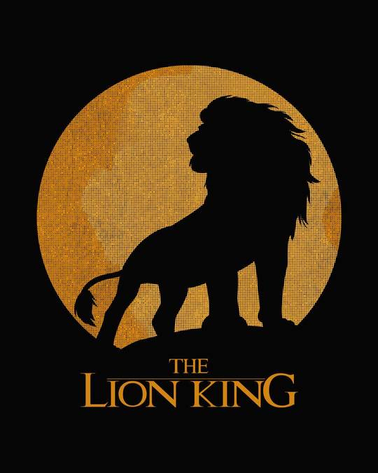 Shop Lion King Sun Full Sleeve T-Shirt (DL)