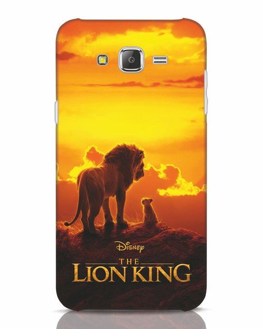 Shop Lion Poster Samsung Galaxy J7 Mobile Cover-Front