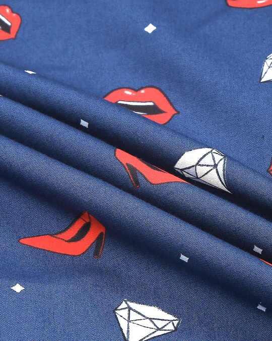 Shop Lipstick & Heels ! All Over Printed Pyjama
