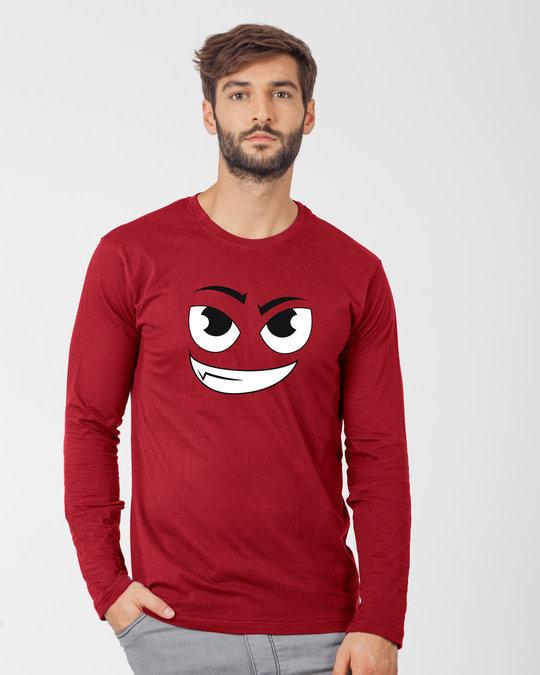 Shop Little Devil Full Sleeve T-Shirt-Front