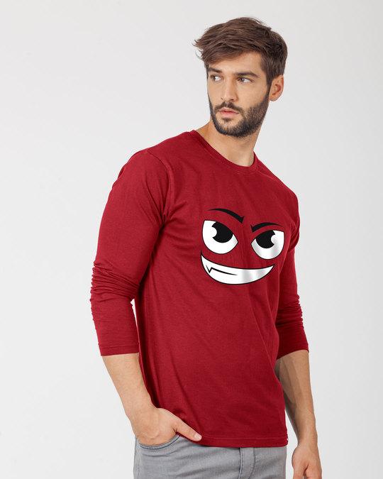 Shop Little Devil Full Sleeve T-Shirt-Back