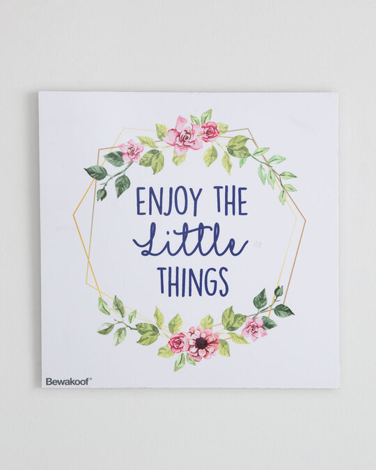 """Shop Little Things Graphic Board -12""""x12"""" Multicolor-Front"""