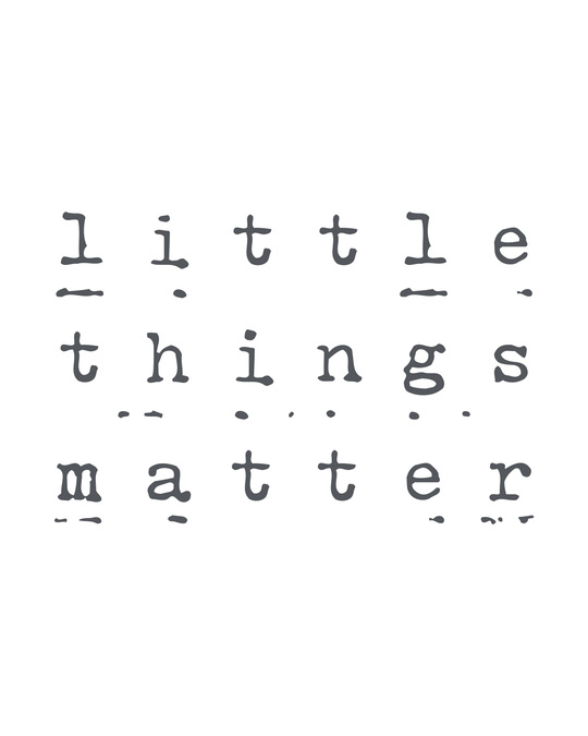 Shop Little Things Matter Round Neck 3/4th Sleeve T-Shirt