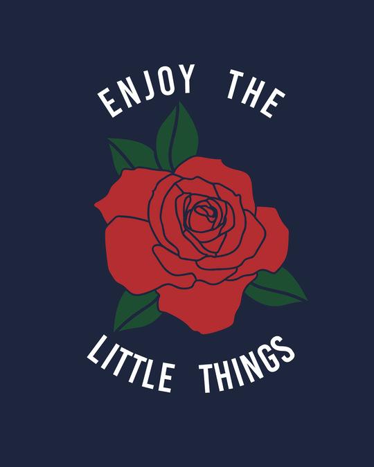 Shop Little Things Rose Fleece Light Sweatshirt-Full