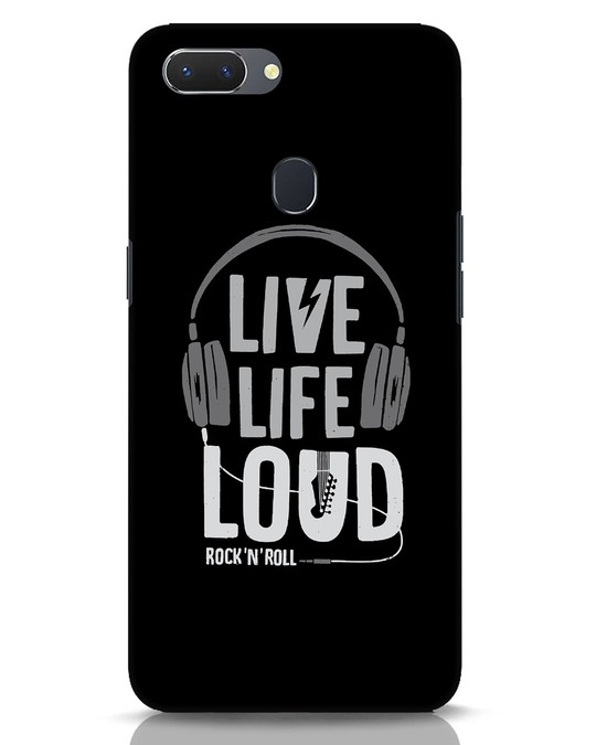 Shop Live Life Loud Realme 2 Mobile Cover-Front