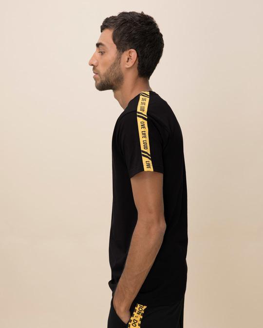 Shop Live Life Loud Single Jersey T-Shirt-Back