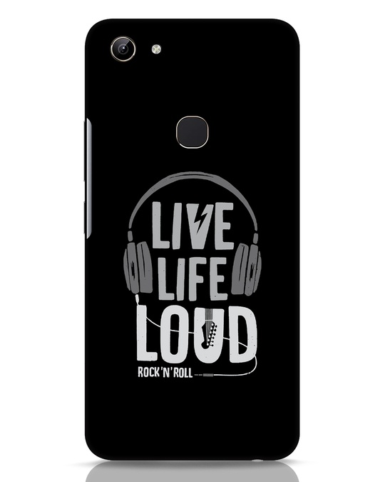 Shop Live Life Loud Vivo Y81 Mobile Cover-Front