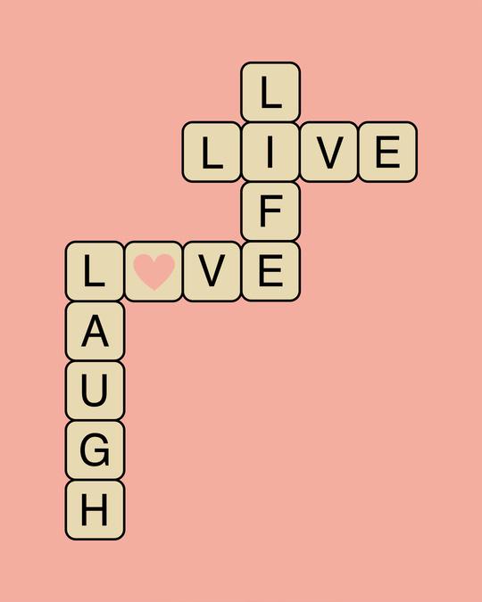 Shop Live Love Laugh Boyfriend T-Shirt