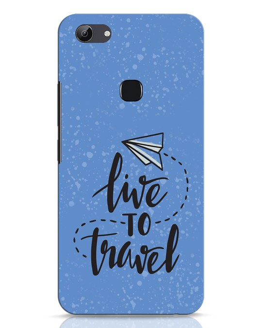 Shop Live To Travel Vivo Y83 Mobile Cover-Front