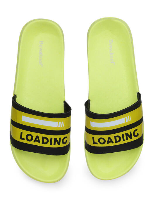 Shop Load Game Printed Lightweight Men Sliders-Design
