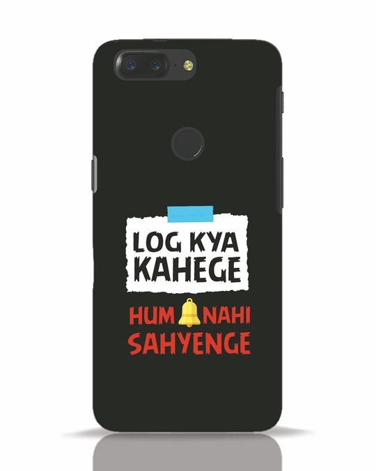Shop Log Kya Kahenge OnePlus 5T Mobile Cover-Front