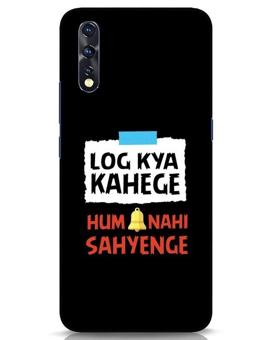 Shop Log Kya Kahenge Vivo Z1x Mobile Cover-Front