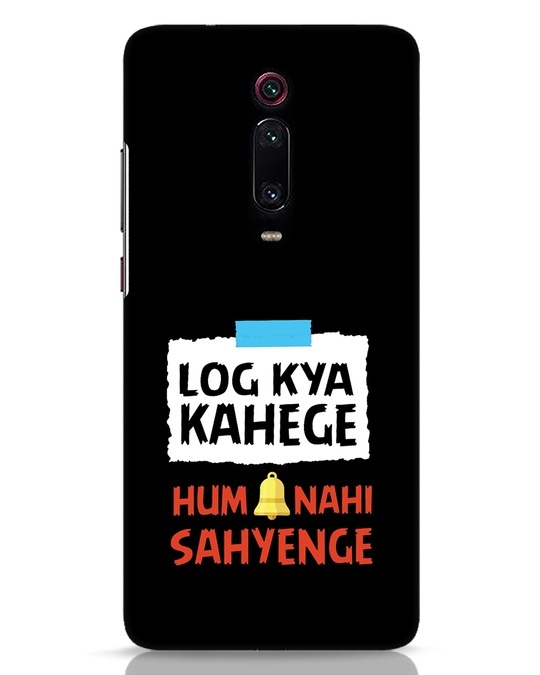 Shop Log Kya Kahenge Xiaomi Redmi K20 Mobile Cover-Front