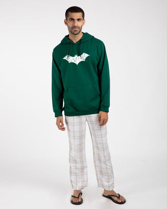 Shop Logo Batman Glow In Dark Fleece Hoodies (BML)