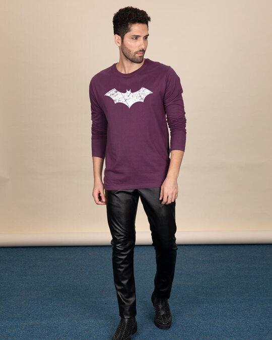 Shop Logo Batman Glow In Dark Full Sleeve T-Shirt