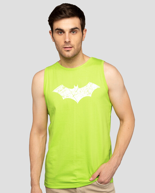Shop Logo Batman Glow In Dark Vest (BML)-Back