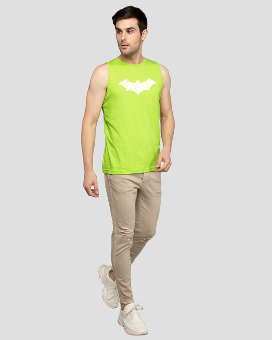 Shop Logo Batman Glow In Dark Vest (BML)-Full